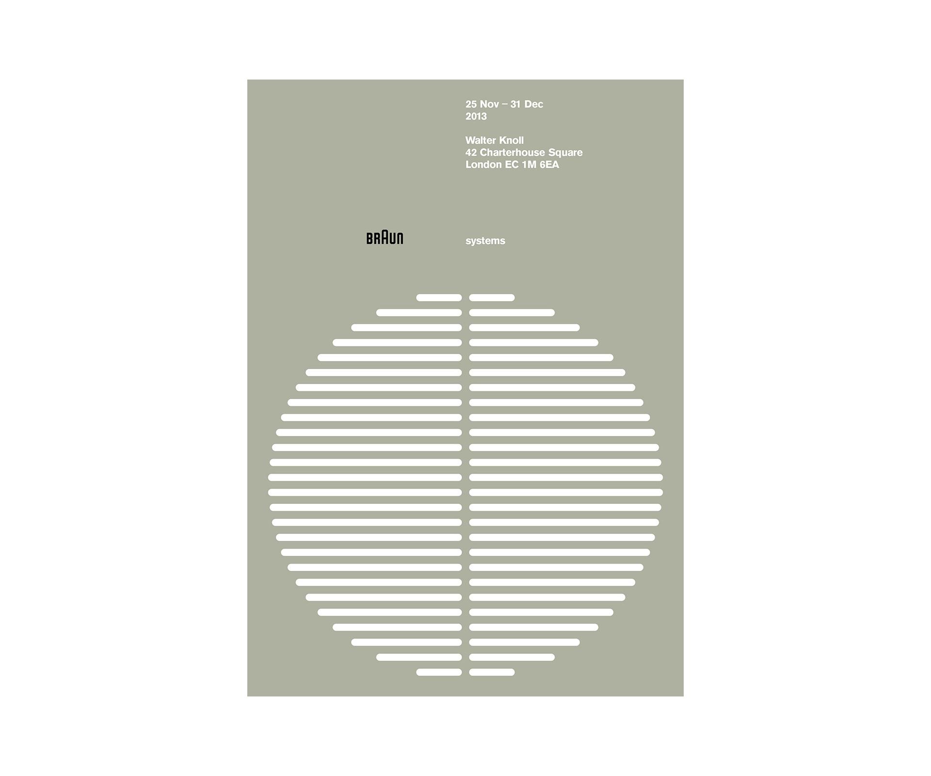 Antonio Carusone systems Braun Poster